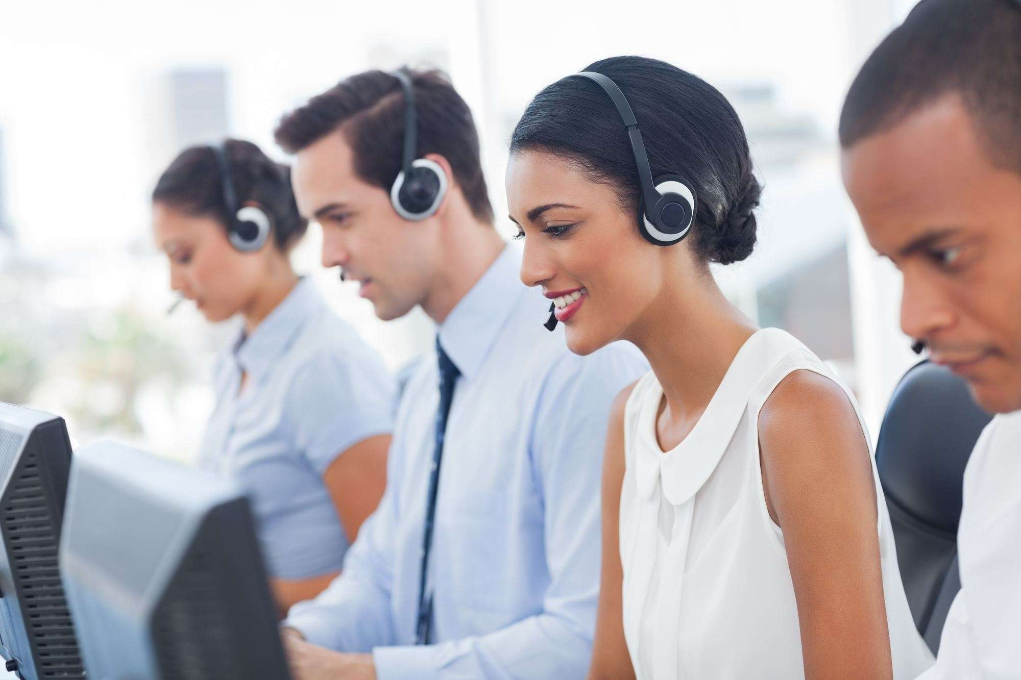 Call center staff