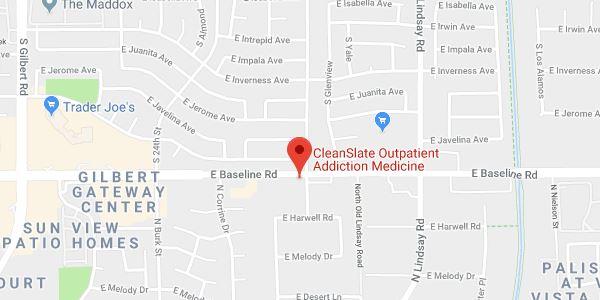 Gilbert, AZ map