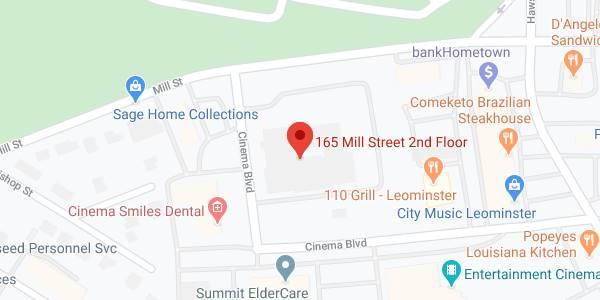 Leominster map